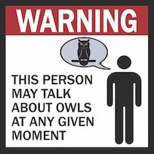 Owl Talk Decal