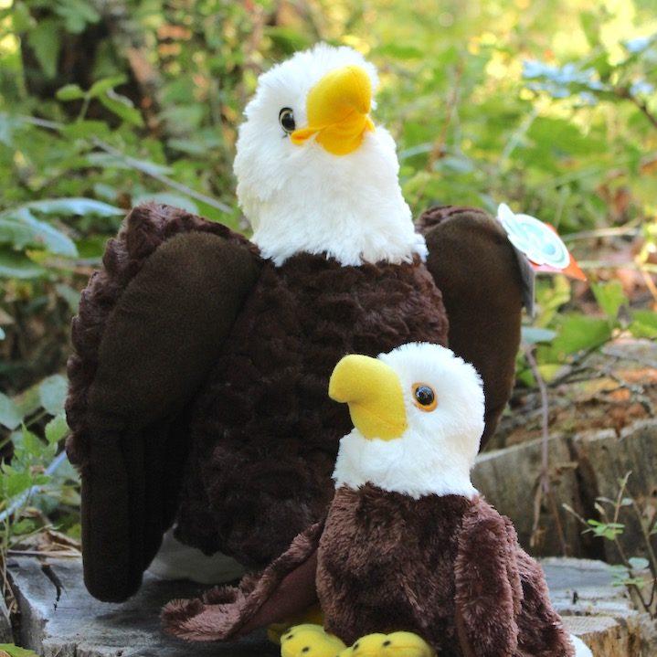 Plush Bald Eagle