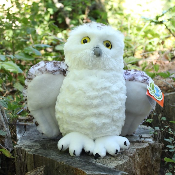 Plush Snowy Owl